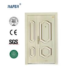 Weiße Farbe ein und halb Stahltür (RA-S142)