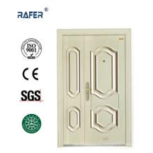 Белый цвет один и половина стальной двери (РА-S142)