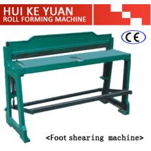 Máquina de corte de pie de alta calidad