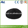 poudre de bois charbon actif pour la purification de l'huile