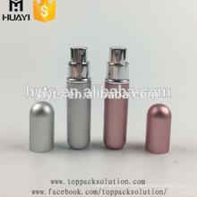 5ml refillable colored mini travel aluminum pocket perfume spray