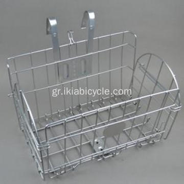Alloy Bicycle Basket Steel Folding Basket