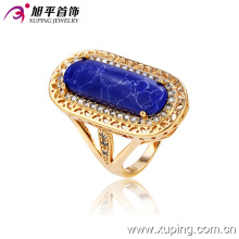 13124 Fine jewelry fashion copper alloy ring designs wholesale 18k gold finger ring for girls