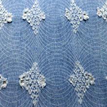 Обработанная смываемая джинсовая ткань