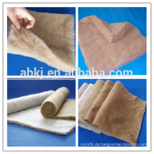 Can be washed camel hair padding or wadding filling for mattress
