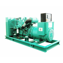 50Hz 320kw 400kVA Combustible diesel de gas natural Mix Generator Set
