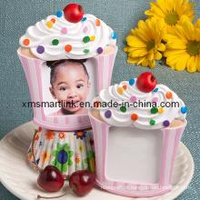 Presentes de quadro de fotos de cupcakes de lembranças para crianças