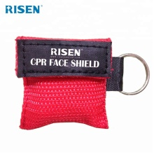 Großhandel professionelle CPR-Maske Schlüsselbund Gesichtsschutz