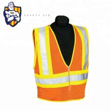 Reflective Hi Vis Fluorescent Fabric Press Vest For Work