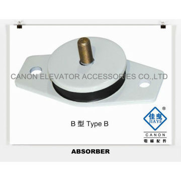 Absorber Rubber pad for Elevator Traction Machine