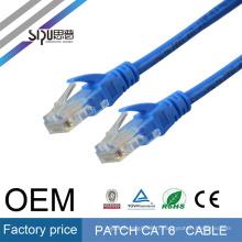 SIPU Haute Qualité vente chaude cat6 cat6a cat5 cat5a câble réseau 3 m utp cat6 patch cordon