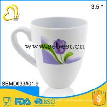 wholesale melamine tableware travel mug with handle
