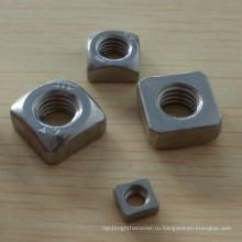 Гайка стальная квадратная DIN557
