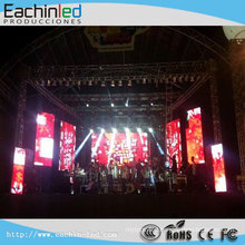 Ph6 Duralumin SMD Rental Rigging Slim LED Panel Display For Stage Club Concert