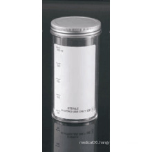250ml Sample Containers with Metal Cap and Plain Label