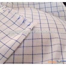 camisa teñida al por mayor del hilado de algodón polivinílico 45 * 45 133 * 72 tela de la camisa