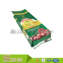 Guangzhou Aluminum Foil Side Gusset Flexible Packaging Custom Design Printed Green Coffee Tea Bags