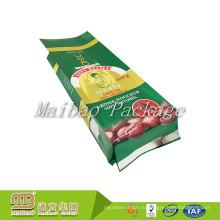 Гуанчжоу Gusset Стороны Алюминиевой Фольги Гибкой Упаковки Нестандартной Конструкции Напечатанный Зеленый Кофе В Пакетиках