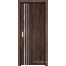 PVC Wooden Door for Kitchen or Bathroom (pd-012)