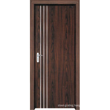 PVC Wooden Door for Kitchen or Bathroom (pd-007)