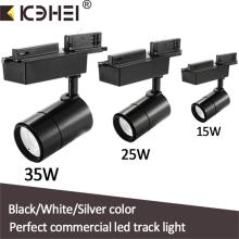 Vit Svart Led Track Lights 15W 25W 35W