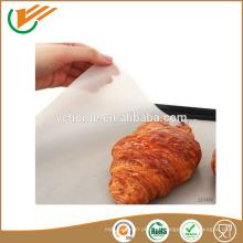 Einfach zu bedienendes Antihaft-Teflon-Backblech ptfe-beschichtetes Fiberglas für Lebensmittel-Grad-Liner Teflon-Ofen-Liner