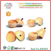 Small Wooden Tooth Apple Box