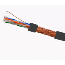 SFTP CAT6 LSZH Câble Fluke Testé Soild Nare Copper Black