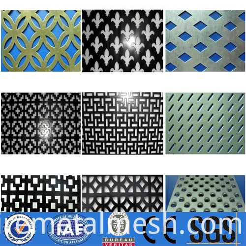 Speaker Grille Perforated Mesh