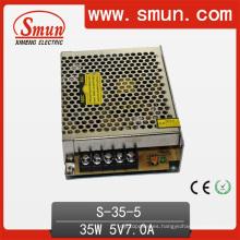 Fuente de alimentación de conmutación de salida única de volumen pequeño 35W 5V / 12V / 15V / 24V