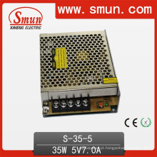 Única fonte de alimentação 35W 5V / 12V / 15V / 24V do interruptor da saída do volume pequeno