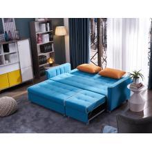 Sofá moderno em tecido para sala de estar Sofá multifuncional