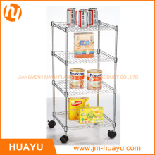 Galvanized Wire Shelving, Wire Stacking Shelves, Wire Security Carts