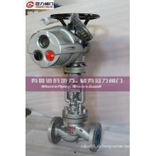 Стандартный электрический Ду50 соч. DIN Глобус Клапан