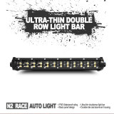 Chinese New Year new arrival 52'' 300w straight dual row led light bar for offroad jeep truck suv no noise