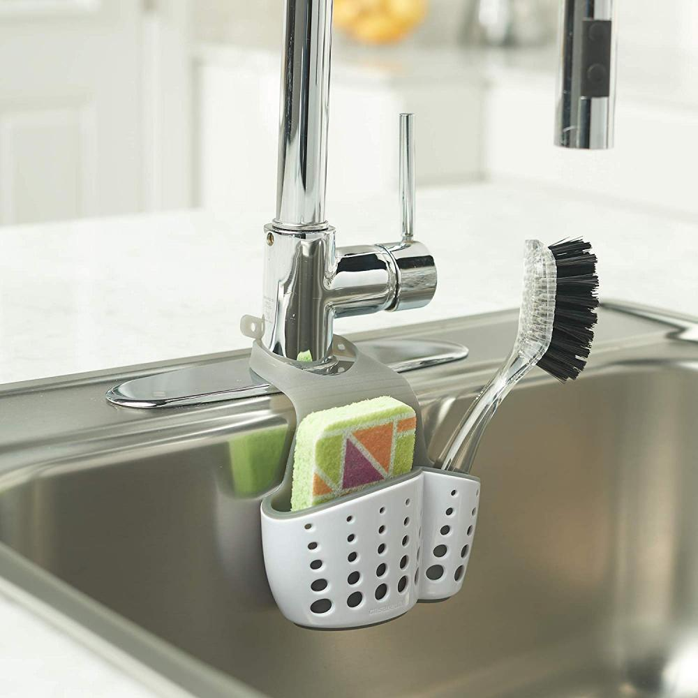 Sink Drain Bag Sider Kran Caddy Sponge Holder