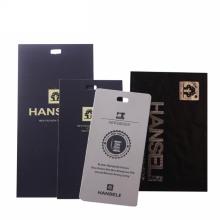 Hot selling custom swing hang tags label designs clothing tag pant logo