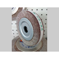 Wooden Core Abrasive Flap Wheel for Stainless Steel Polishing