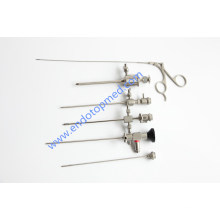 30deg 2.7mm Telescope with Operating Sheath, Trocar, Forcep and Diagnose Sheath