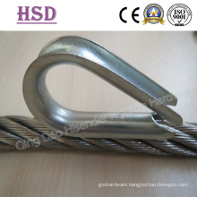 Thimble & Wire Rope. European Commercial Type, Us Type G414, Us Type G411