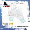 13G Nylon PU beschichtete Top Fit Handschuh