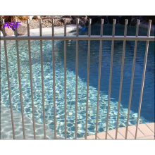 Pulverbeschichtetes Aluminium Picket Top Pool Fechten