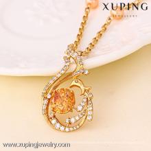 41300 Xuping Top-Qualität Schmuck Kristall Anhänger Halskette