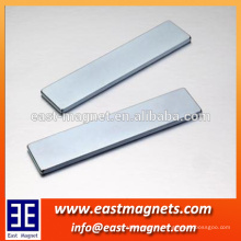 N50 long piece ndfeb magnet/strong neodymium NICUNI coated magnet for sale