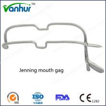 EN T Instrumentos Quirúrgicos Laringoscopio Jenning Mordaza de la boca