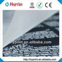 étiquette de personnalisation sans balise Heat Transfer de haute qualité 2015
