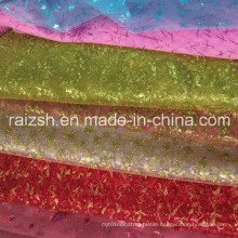 Wedding Gauze Fabric, High Quality Environmental Protection Glitter Fabric