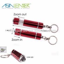 0.5W Pop-up Keychain com luz LED