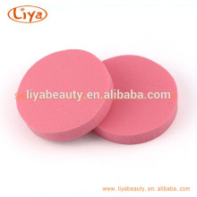 Round Shape Makeup Sponge, Red Cosmetic Sponge 2015
