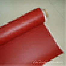 2015 Piel de fibra de vidrio revestida de caucho de silicona entera de la fábrica para el aislamiento térmico